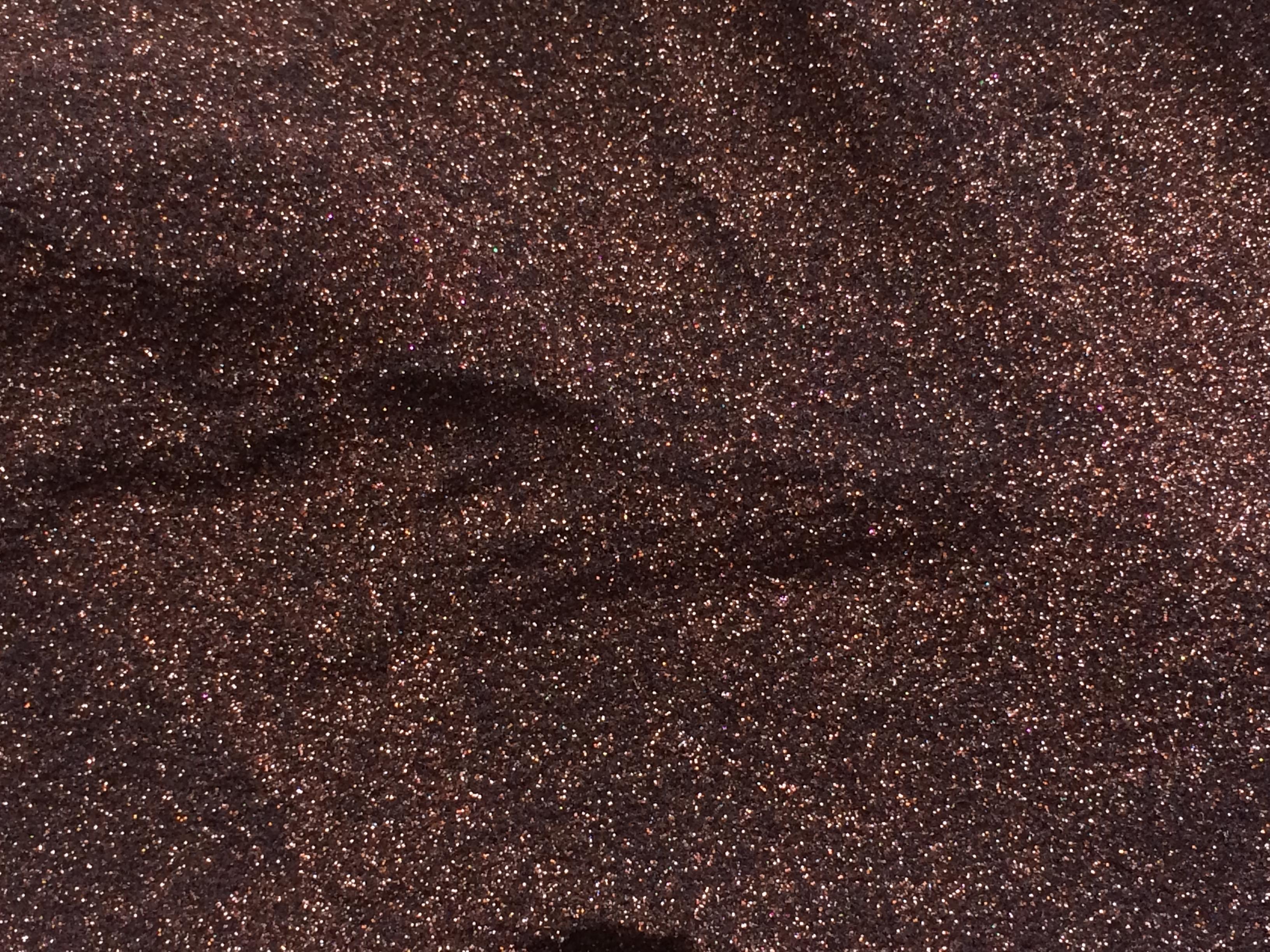 Sweet Poppy Stencil: Satin Glitters Bronze