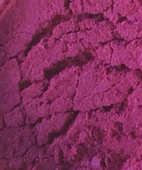 Sweet Poppy Stencil: Mica Powder Magenta