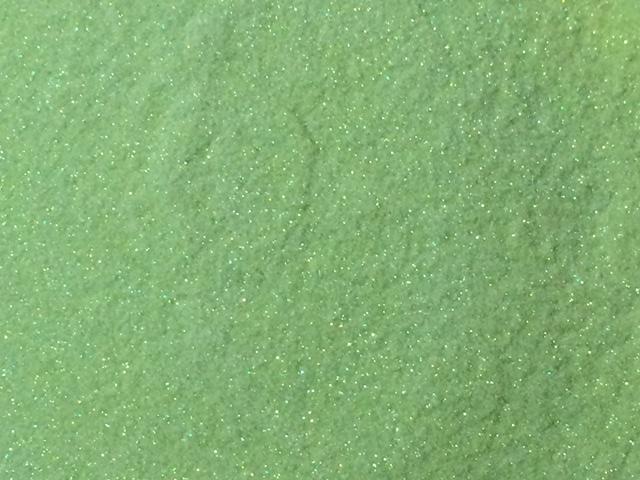 Sweet Poppy Stencil: Satin Glitters Light Green