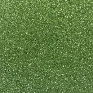Sweet Poppy Stencil: Satin Glitters Sea Green