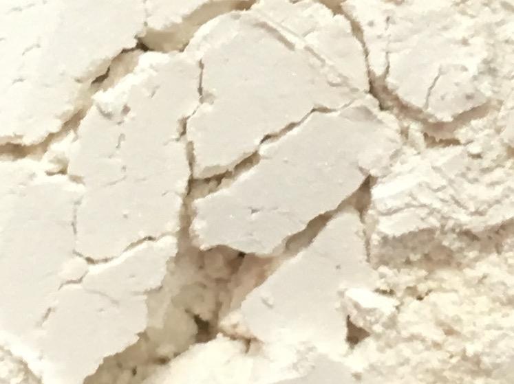 Sweet Poppy Stencil: Mica Powder Arctic White