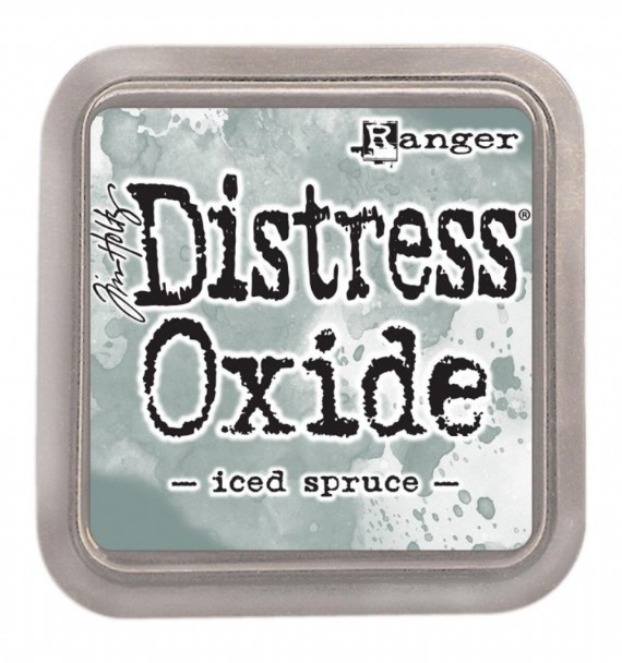 Distressed Oxide: Iced Spruce