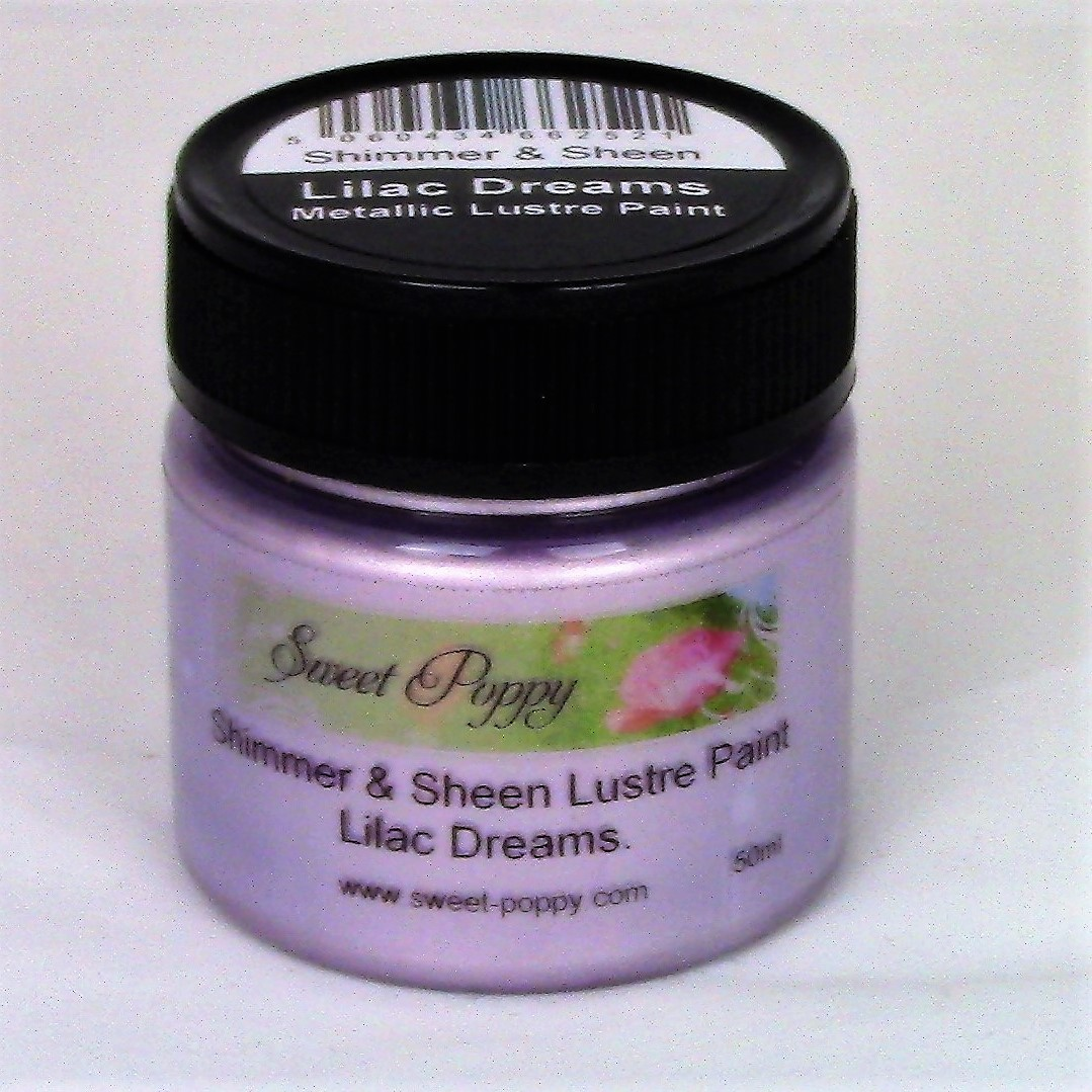 Shimmer & Sheen Lustre Paints: Lilac Dreams