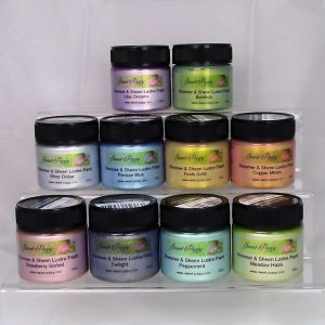 Shimmer & Sheen Lustre Paints: A complete collection 10 colours