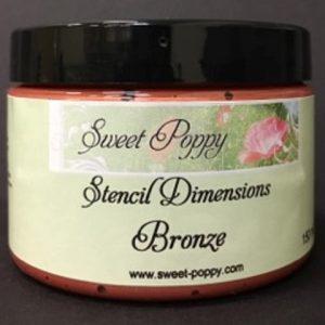 Stencil Dimensions: Bronze