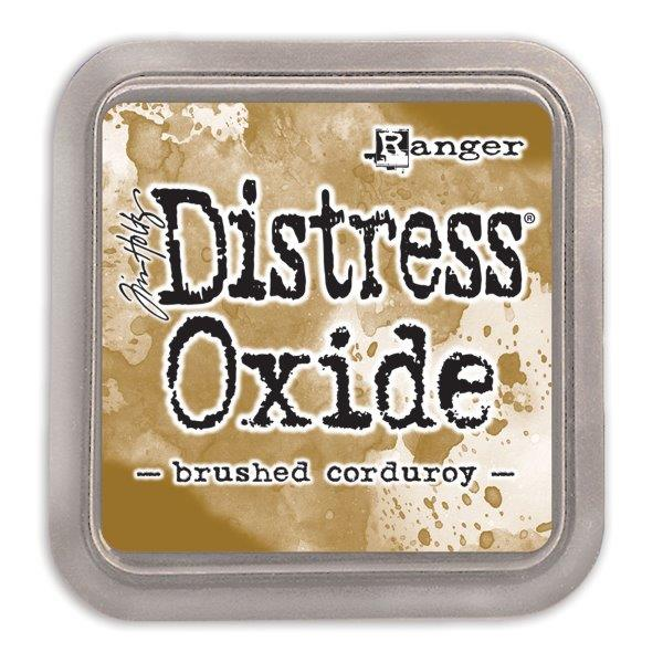 Distressed Oxide: Brushed Corduroy