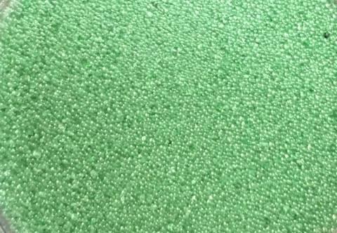 Sweet Poppy Ultra Fine Glass Microbeads: Dark Green