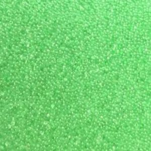 Sweet Poppy Ultra Fine Glass Microbeads: Green