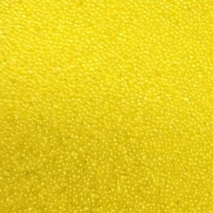 Sweet Poppy Ultra Fine Glass Microbeads: Yellow
