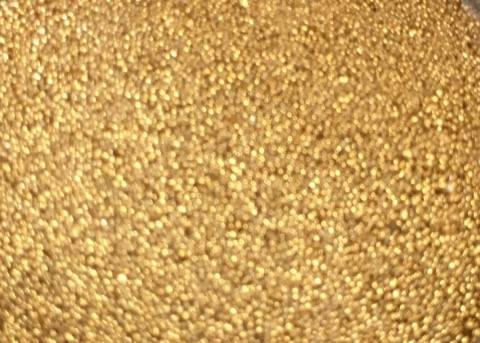 Sweet Poppy Ultra Fine Glass Microbeads: Gold