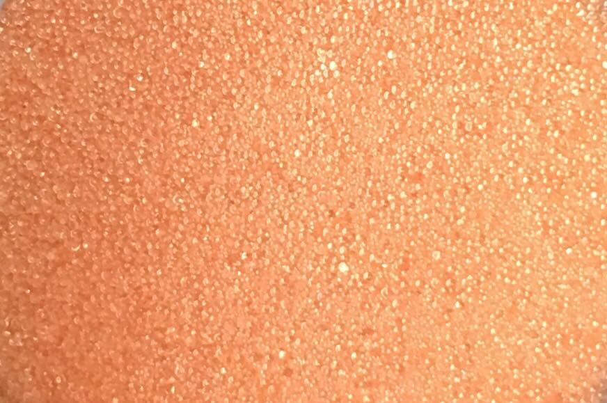 Sweet Poppy Ultra Fine Glass Microbeads: Tangerine