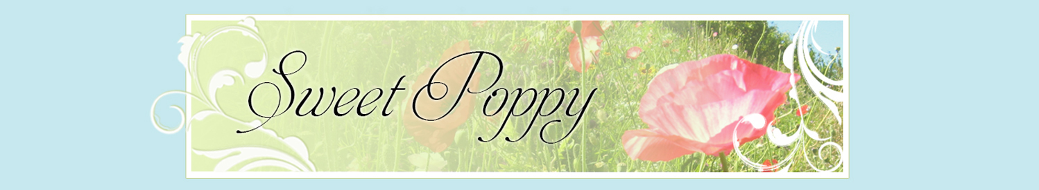 Sweet Poppy craft station