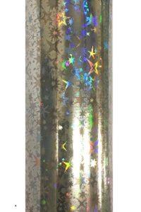 Silver Starburst Hot Foil