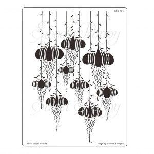 Fairy Lanterns Stencil