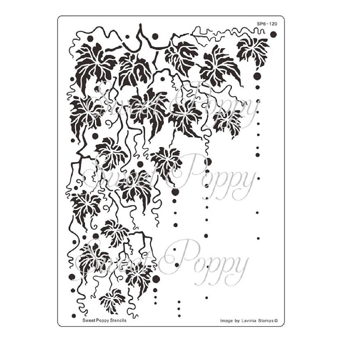 Fall : Back plate Stencil