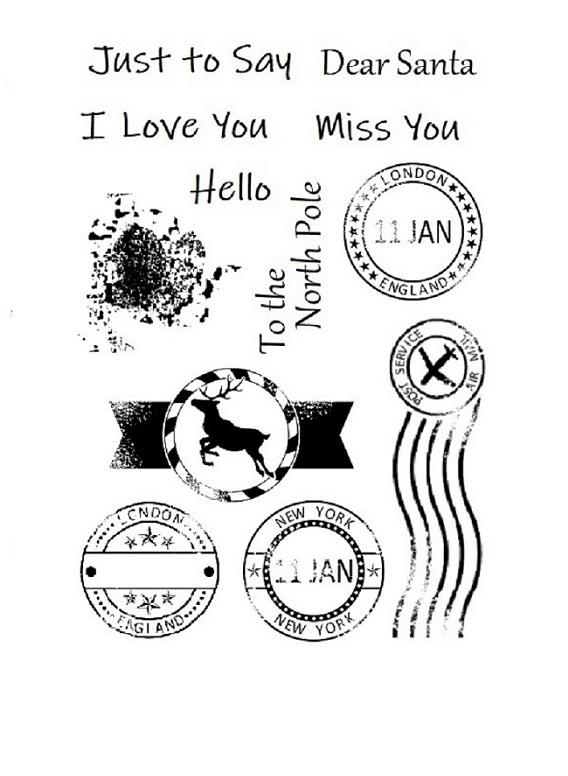 Postmark Stamp Set